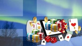 Suomen lippu ja kasinopelejä